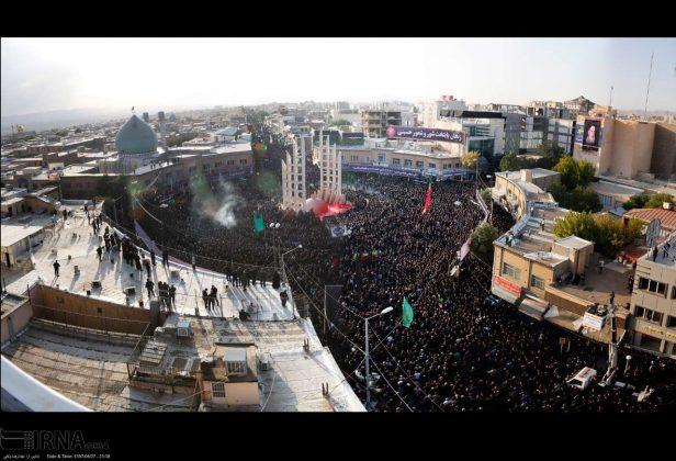 Millions in Iran Mourn Imam Hussein's Martyrdom