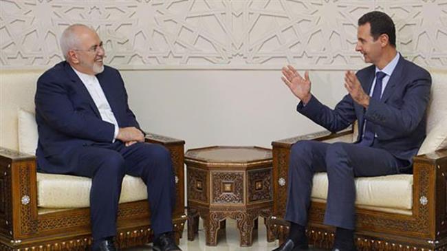 Zarif, Assad say Western pressure will fail to stop Iran-Syria terror fight
