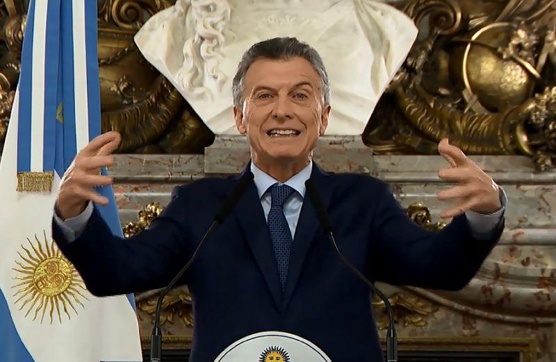 Argentina's president announces new austerity measures