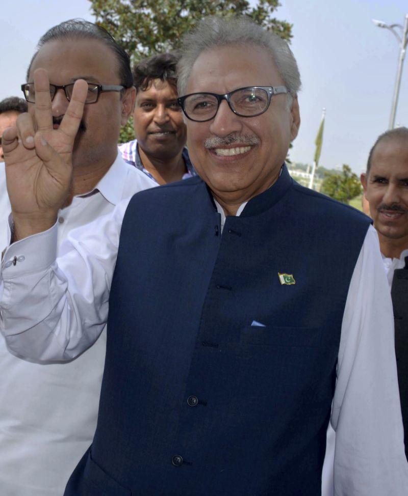 Pakistani lawmakers begin electing new president
