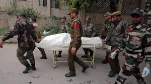 Pakistan says India military kills 1 in disputed Kashmir
