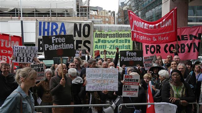 Pro-Palestine groups condemn UK Labour Party's anti-Semitism vote