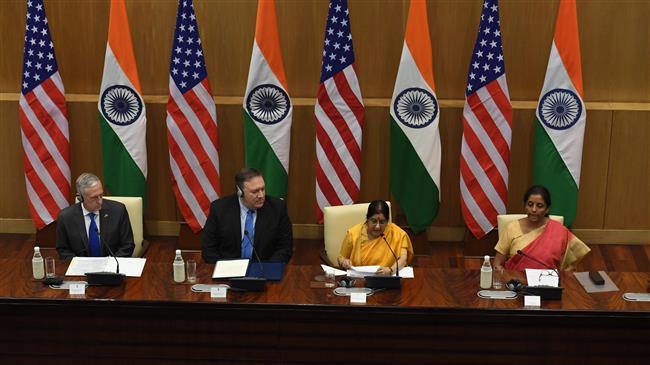 Now in India, US pursuing pressure campaign against Iran