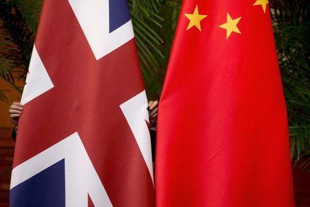 Major Chinese paper warns Britain on trade talks after warship sail-by