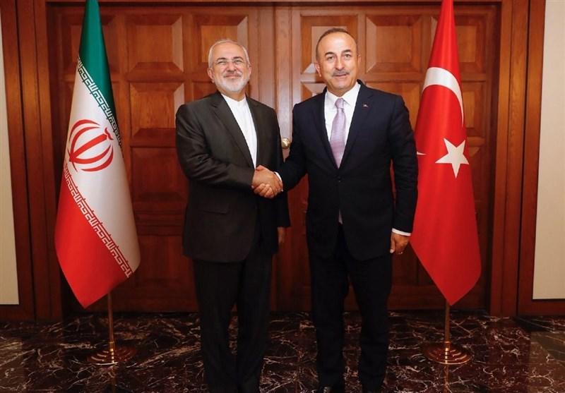 Iranian, Turkish top diplomats meet ahead of Tehran summit