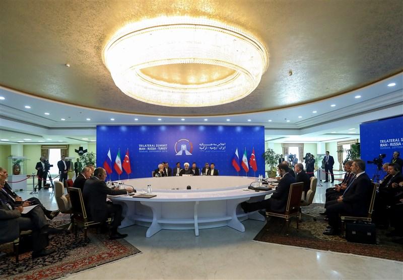 Iran, Russia, Turkey issue joint statement on Syria