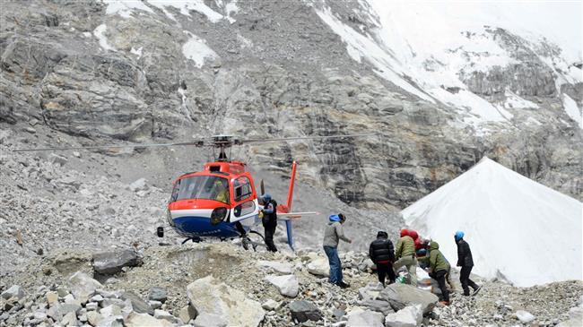 Chopper crash in Nepal leaves 6 dead