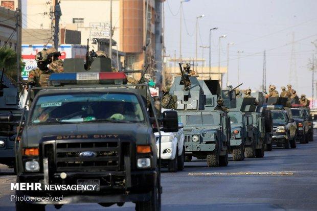 Basra in chaos