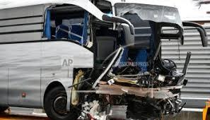Switzerland says 6 citizens killed in Swedish minibus crash