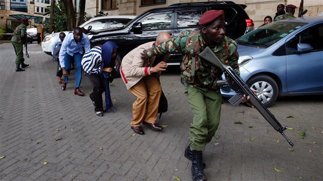 Explosion, gunshots rock Kenyan capital