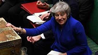 British PM May's government wins no confidence vote