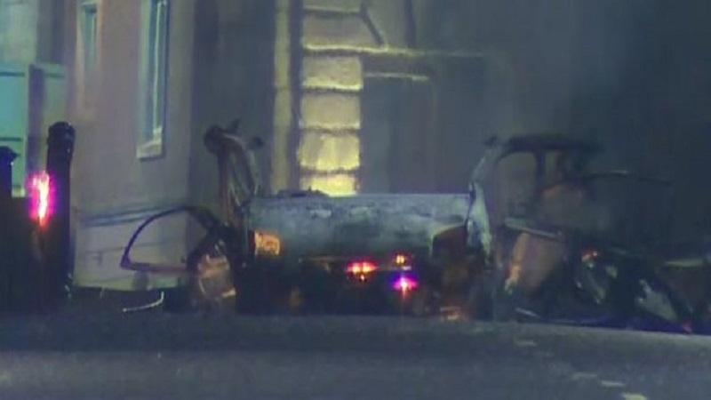 Car bomb explosion rocks Londonderry, Ireland