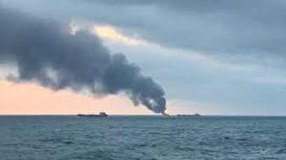 10 killed in ship incident near Crimea, 14 rescued