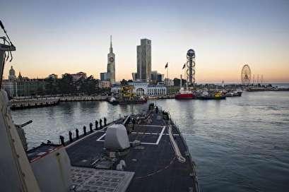 U.S. destroyer Donald Cook arrives in Black Sea region for NATO drills