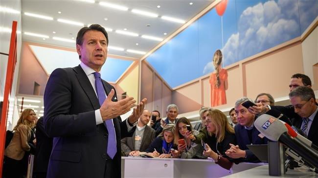 Italy's PM Conte criticizes Franco-German Aachen Treaty