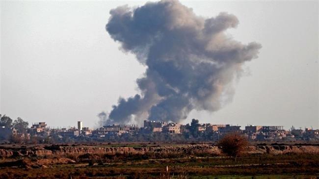 13 Syrian civilians killed in US-led operation in Dayr al-Zawr