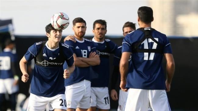 Iran train before facing Japan in Asian Cup semis