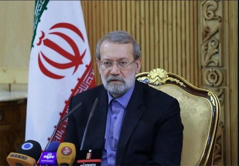 Iran's Larijani slams US 'deal of century' plan