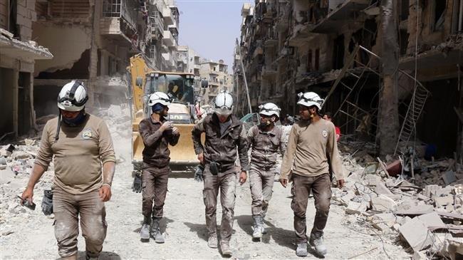 White Helmets preparing to film false flag chemical attacks in Idlib: Russia