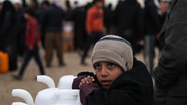 Cold kills dozens of children at refugee camp in Syria: UN