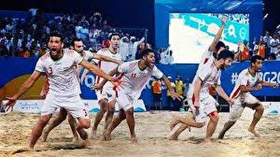 World Beach Games: Iran beat Italy, win bronze