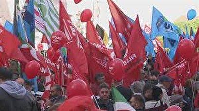 Black Friday strikes hit several Italian cities