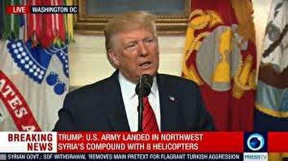 'He died like a dog': Trump details Daesh leader al-Baghdadi's last moments