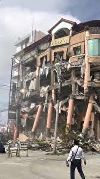 Philippines' 6.5 earthquake kills at least five