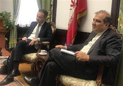 Iranian, Belgian Diplomats Discuss Regional Issues, JCPOA