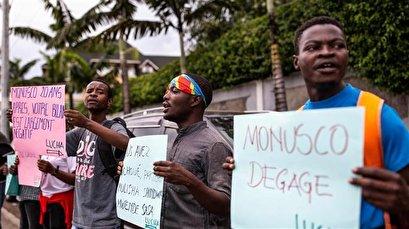Protester killed in new anti-UN demo in DR Congo