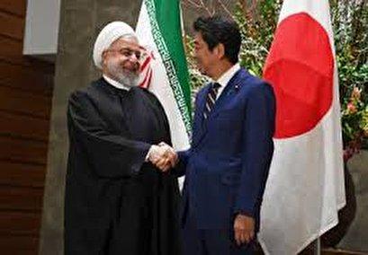 Iran president in Tokyo, urges Japan to help rein in US
