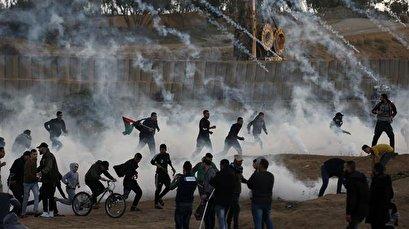Dozens of Gazans injured by Israeli forces