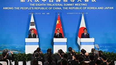 China, Japan, South Korea stress dialog with North Korea
