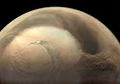 NASA simulates the clouds on Mars using a supercomputer