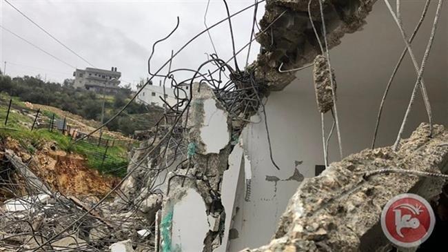 Israel destroys Palestinian house near Bethlehem