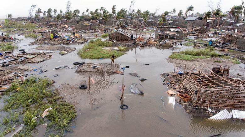 1,000 feared dead in cyclone Idai: Mozambique president