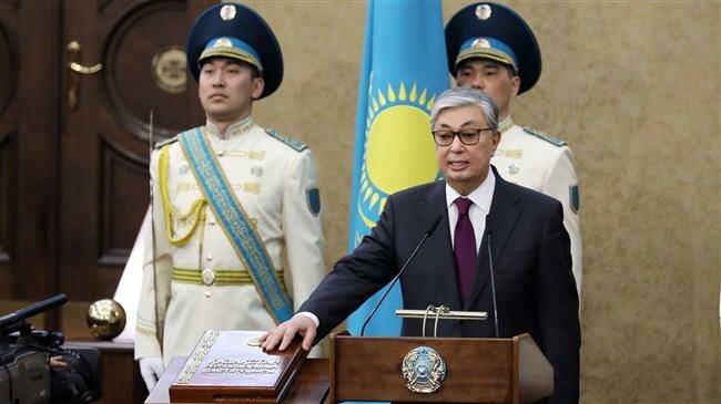 After Nazarbayev's resignation, interim president takes oath of office in Kazakhstan