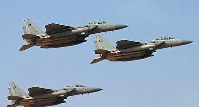 Saudi jets raid Yemeni capital after drone shot down