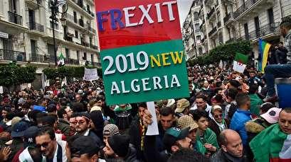 Algeria: Hundreds of thousands battle rain to protest Bouteflika