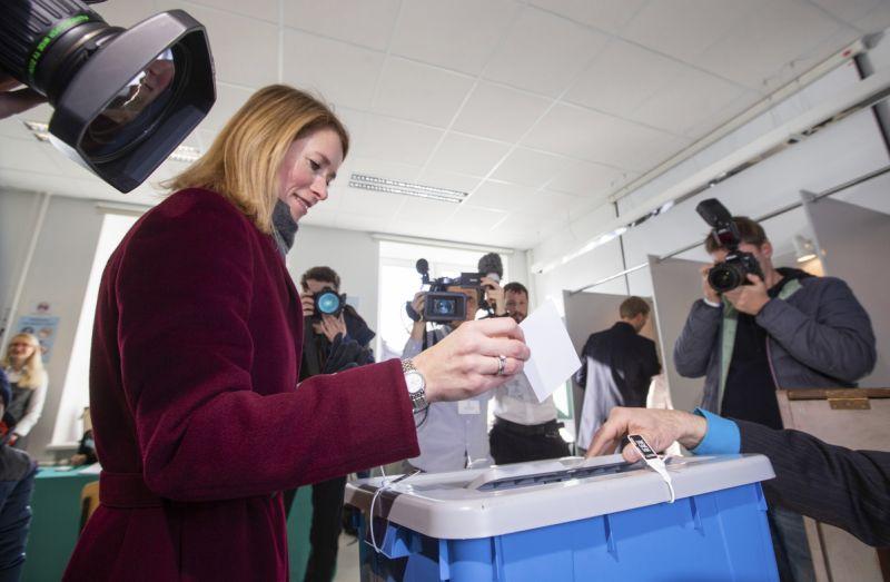 Estonian opposition leader derides govt policies