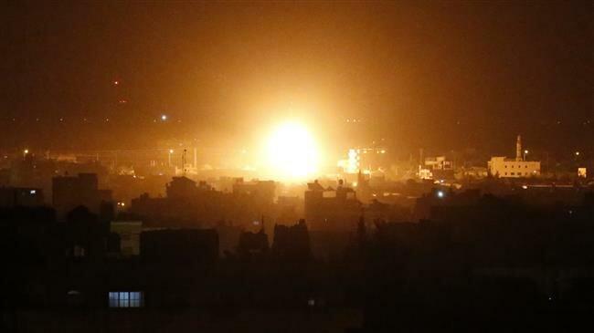 Israeli tanks hit positions in Gaza after 'rocket fire'