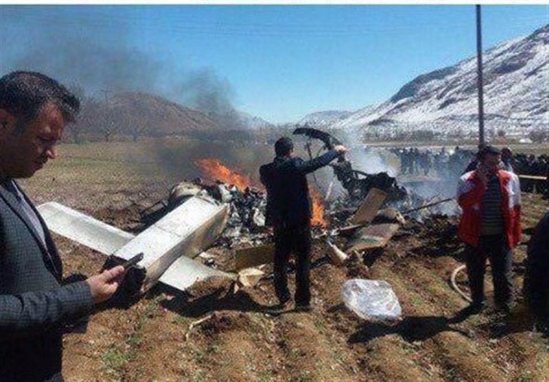 5 dead in plane crash, plateau of Iran