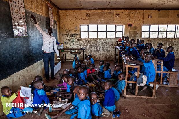 Going to school in the wilds of Kenya