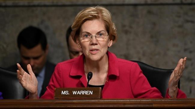 Senator Warren vows to break up Amazon, Facebook, Google