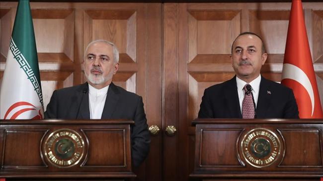 Iran's Zarif, Turkey's Erdogan slam US sanctions, IRGC blacklisting as they urge enhanced ties
