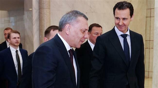 Syrian president, Russian deputy PM discuss post-war economic revival