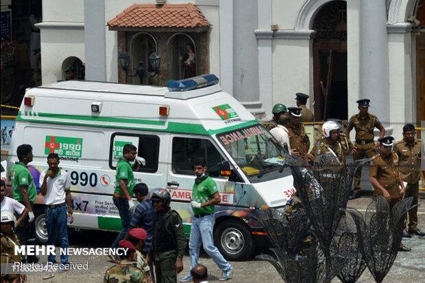 8 blasts in Sri Lanka