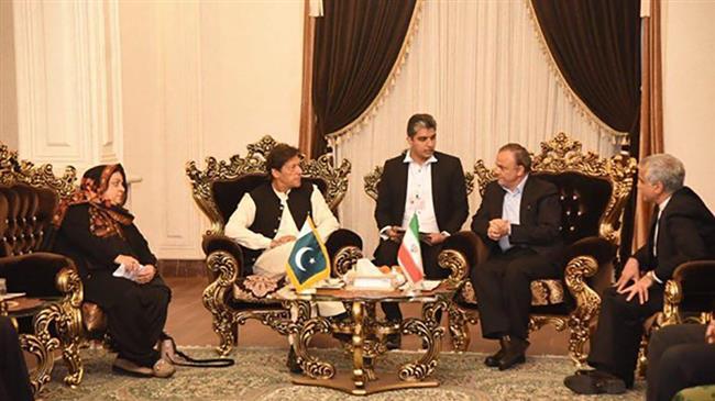 Pakistan's Prime Minister Imran Khan in Iran on 1st historic visit
