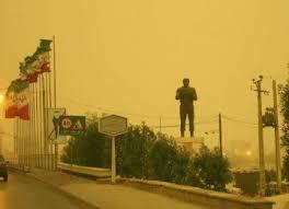 Dust storm blankets Iran's flood-hit province