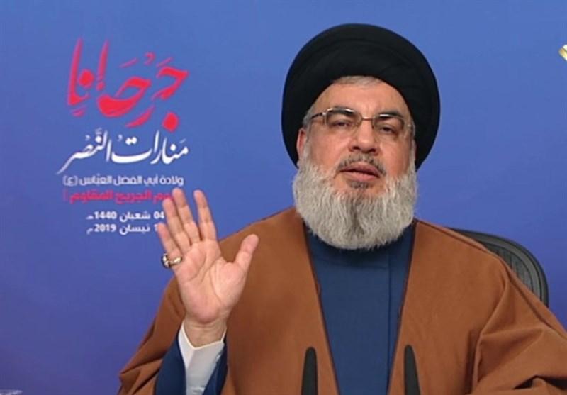 Nasrallah slams Saudi, UAE for joining US pressure campaign against Iran